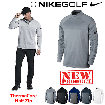Nike Golf Jumper Nike 1/2 Zip Golf Pullover Nike Dri-Fit Cover Up Top New 2016