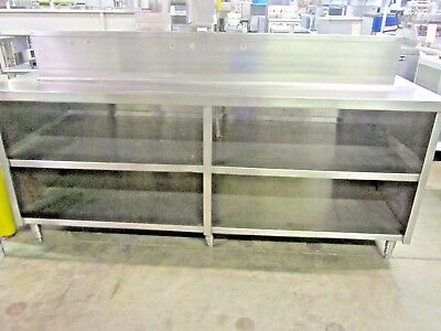"""Ice Bar & Cabinet, Stainless Steel 84""""   #1864"""