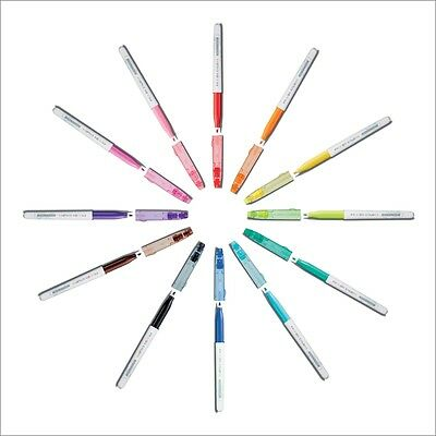 Pilot Frixion Color Fasermaler Set in 12 Farben