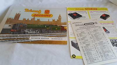 Triang Rovex 7Th Edition No7 Catalogue Excellent Near Mint Price List Etc