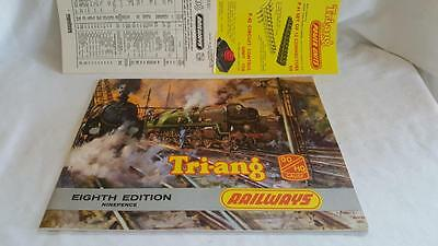 Triang Rovex 8Th Edition No8 Catalogue Mint With Price List Etc
