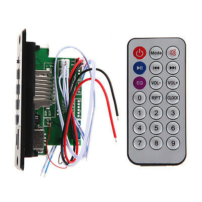 Digital LED 12V Bluetooth MP3 Decoder Board FM Radio  MP3 Amplifier with Screen