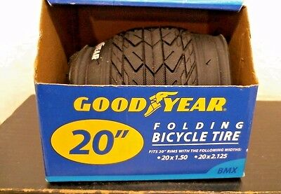 "GoodYear 20/"" BMX Folding Bicycle Tire FREE SHIPPING"