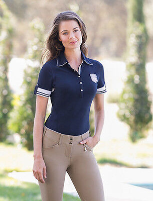 Goode Rider Authentic Polo Shirt-Navy-M