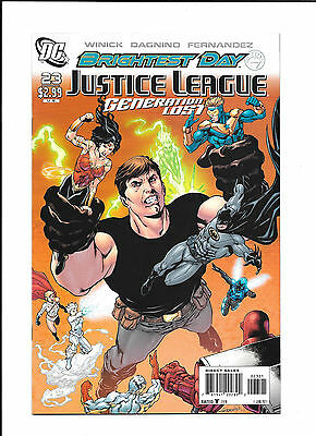 Justice League Generation Lost #23 Variant (Nm+)