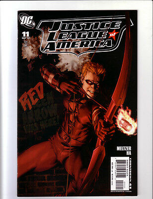 Justice League Of America #11 Variant (8.0) Red Arrow