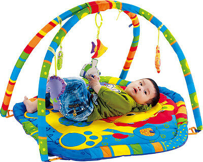 Baby Mat Play Gym Soft Activity Foam Playmat Kids Toys Gym Floor Toddler New UK