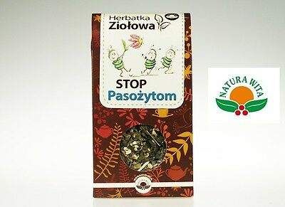 STOP PASOŻYTOM Pinworms, Roundworms, Tapewor Potent Defence against Parasites