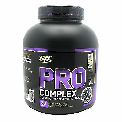 Optimum Nutrition Pro Complex 3.3Lb Protein Powder 60 Gms Protein Free Shipping