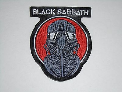 Black Sabbath Embroidered Patch