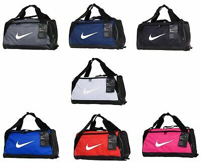 Nike Duffle Sports Team Gym Brasilia Bag Holdall Travel Kit Bags Small Medium