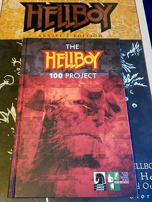 The Hellboy 100 Project Hardcover Signed By Mignola Nm