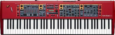Nord Stage 2 Ex 88 Note Weighted Hammer Stage Piano**** Free Freight ****