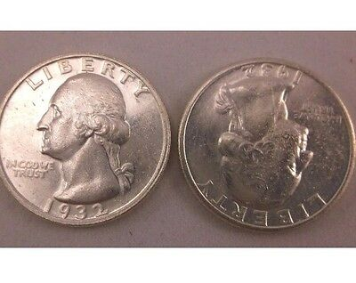 Two Sided Coin Two Headed Quarter Trick Coin