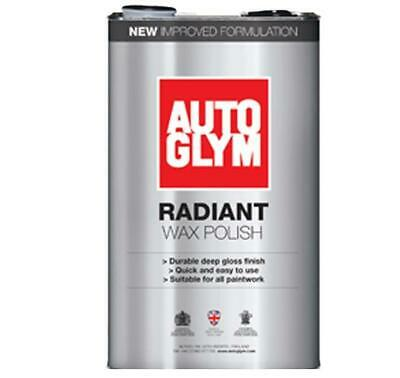 Autoglym Car Automotive Radiant Wax Polish Depth Clarity Gloss 5L AUTRW5