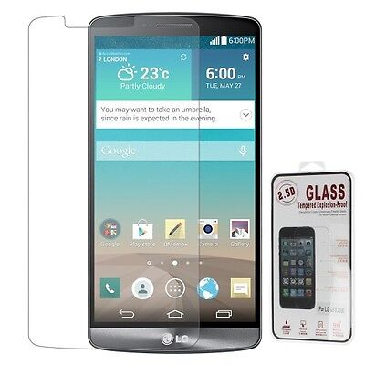 Film haute protection verre trempé LG G3 ou LG G4 Screen tempered glass 9H