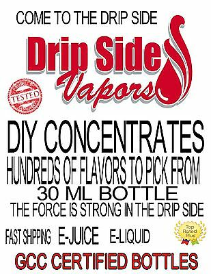 1-30Ml Diy Concentrate Hundred+ Flavors Drip Side Ejuice-E-Liquid