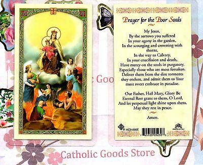Prayer for the Poor Souls - Laminated Holy Card
