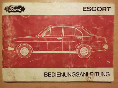 betriebsanleitung handbuch ford escort limousine kombi ausgabe 1970 eur 11 50 picclick de. Black Bedroom Furniture Sets. Home Design Ideas