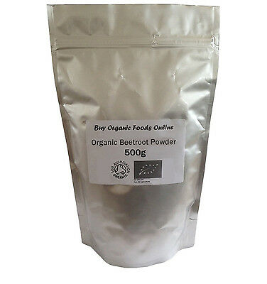Organic Beetroot Powder Grade *A* Premium Quality! Soil Association Certfied