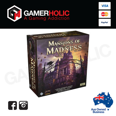 Arkham Horror Mansions of Madness Board Game Second Edition Brand New