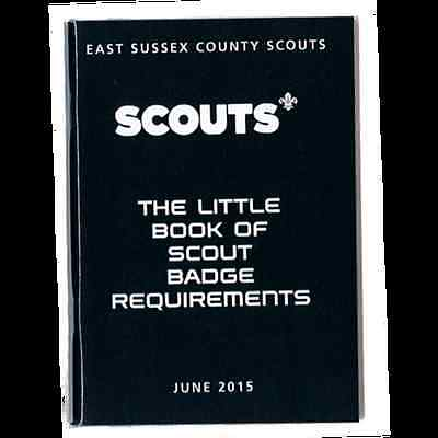 Scout Little Book Of Badge Requirements 2015**great Item **