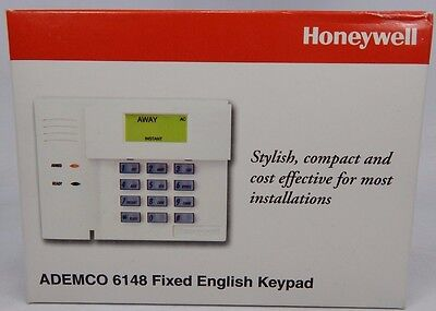 Honeywell Ademco 6148 Keypad Fixed English (Can Replace both the 6128 and 6150)a