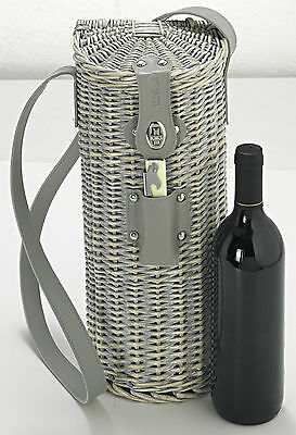 Single Wine Bottle Basket
