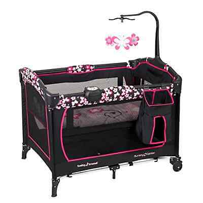 Baby Playard 15 Pound Capacity Removable Bassinet 30 x 10.4 x 9.5inches Play Pen