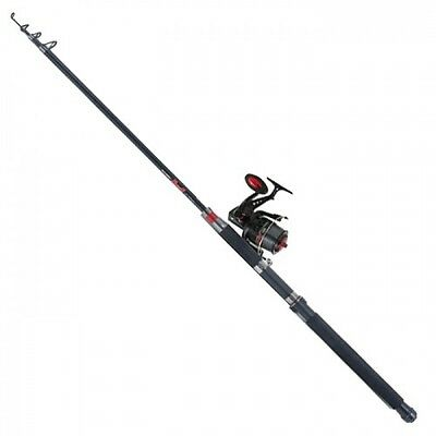 NEW Jarvis Walker Devil Telescopic Sea Fishing Combo Kit - 8ft - 6-10lb - 18171