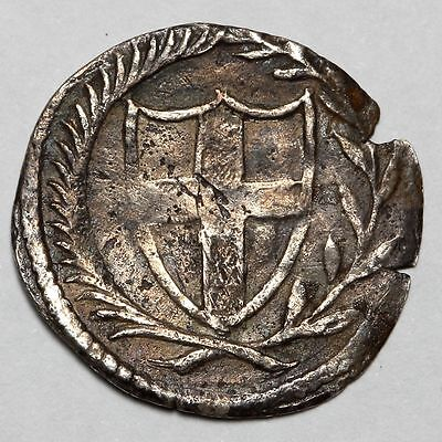 1649-1660 Commonwealth Great Britain Silver 1/2 Half Groat Coin