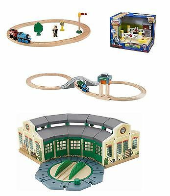 New Thomas & Friends Wooden Railway Tidmouth Crossroad Coal Playsets