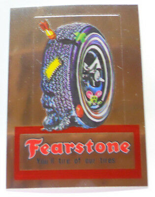 2014 Topps Wacky Packages Chrome Trading Card #2-Fearstone-Firestone