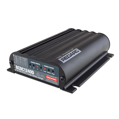 Ring Automotive 30A 12V DC-DC MPPT Battery-Battery Smart Charger - RSCDC30