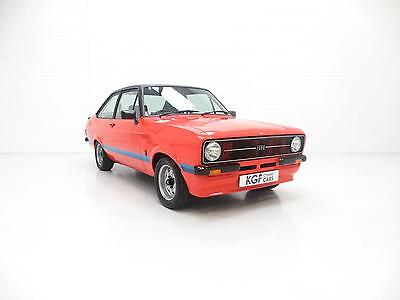 A Ford Escort Mk2 RS1800 Custom Recreation in Press Car Carnival Red