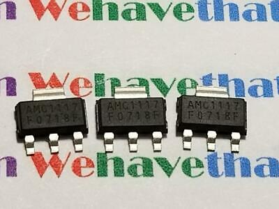 AMC1117SK / SURFACE MOUNT / 3 PIECES (qzty)
