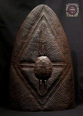 Old Kirdi Embossed Shield – Cameroon
