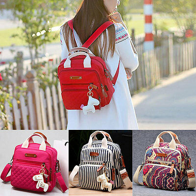 Mummy Handbag Tote Shoulder Bags Multifunction Baby Nappy Diaper Bag Backpack