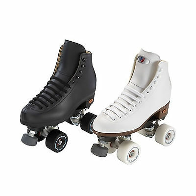 Riedell 111 Angel with Riva wheels Artistic Roller Skates