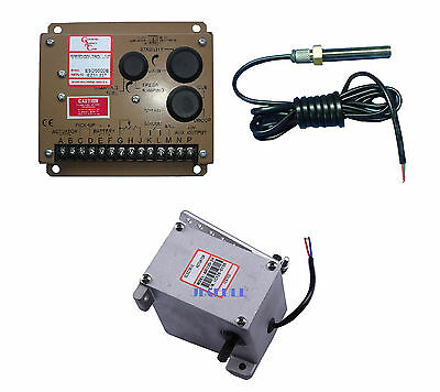 New ESD5500E speed controller +MSP6729 Magnetic Speed Sensor+ADC120 12V actuator