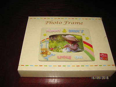 "Babys Photo Frame - Mummy & Daddy's Little One Holds 4"" X 6"" Photo"