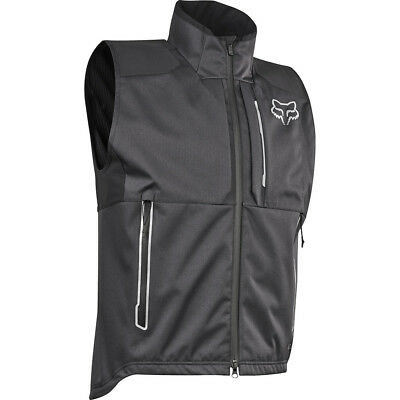 NEW Fox Racing 2018 Legion Charcoal Adventure Trail Riding Offroad Vest