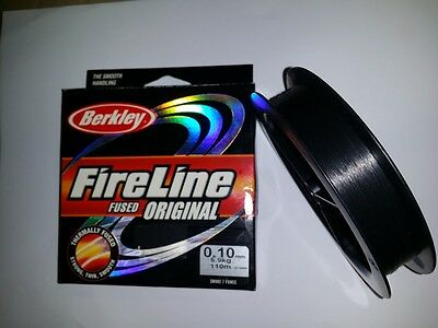 BERKLEY FIRELINE ORIGINAL 110mt - SMOKE / FUMEE
