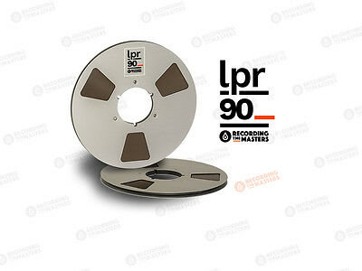 New 1/4'' Pyral (BASF) LPR90 tape 1100m, 3600ft, Metal reel with BOX