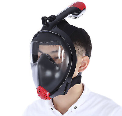 Surface Diving Snorkeling Full All Dry Mask Goggles Swimming Best Quality Aust