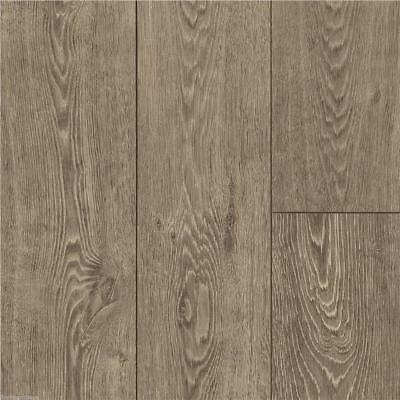 Laminate 10mm x 158mm Brushed Clay Grey Oak Effect Flooring Fixed Lengths