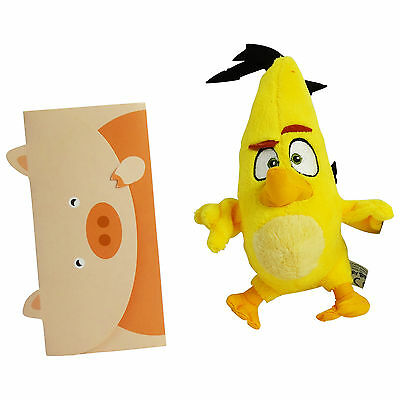 Angry Birds Yellow Plush Toy Chuck Gift Idea