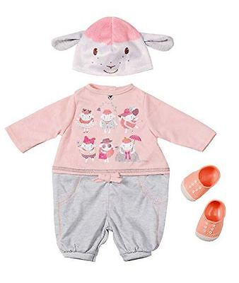 New Zapf Creation Baby Annabell Casual Day Doll Outfit Clothes Set Age 3+