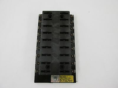CUT/MOD Bussmann 15600-18-21 18 Position ATC Fuse Panel Block RV Boat Solar