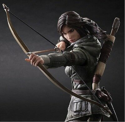 "Rise of the Tomb Raider Lara Croft Play Arts Kai 10"" action figure Crazy Toys"